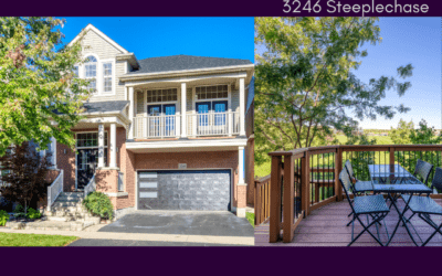 New Listing 3246 Steeplechase Drive